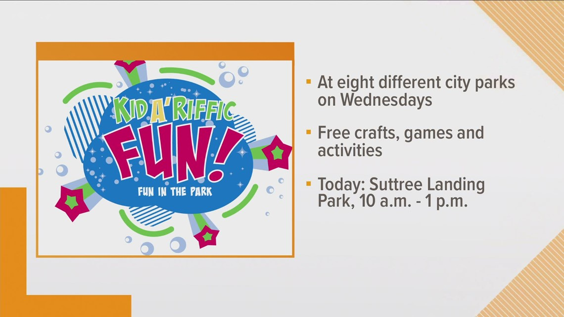 Kid A' Riffic Fun coming to Knoxville city parks this summer