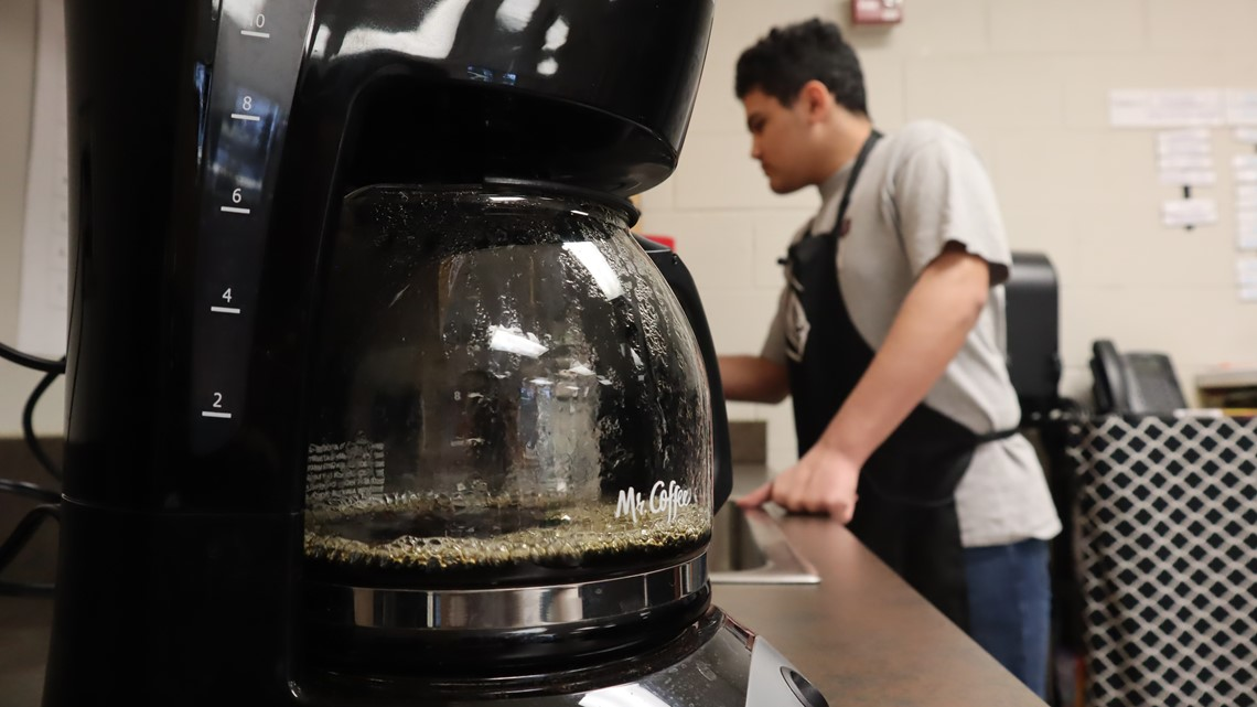 SLIDESHOW: Special Education students operate coffee cart business