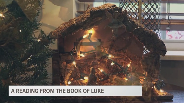 Local religious leaders read biblical Christmas story to children