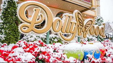Dollywood's Smoky Mountain Christmas is in full swing