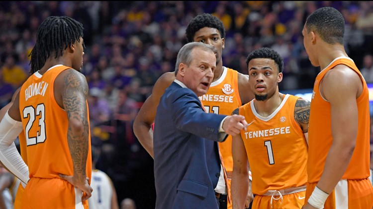 Vols begin NCAA Tourney Friday vs. Colgate