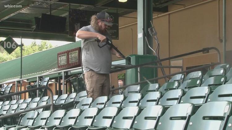 Tennessee Smokies baseball team to host peanut-free night on Tuesday