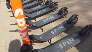 Knoxville parking garages will now be 'no-ride' zones for scooters