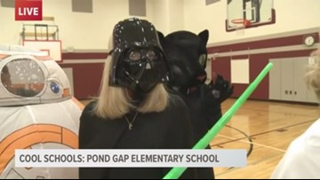Cool Schools: Pond Gap Elementary