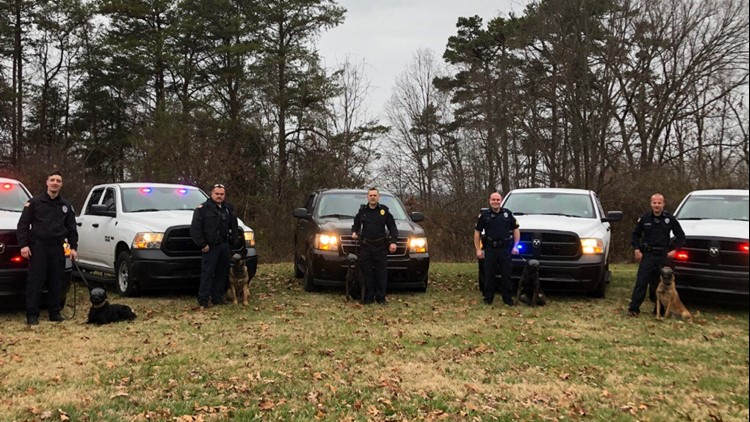 K-9 goggle donation to the Morristown Police Dept.