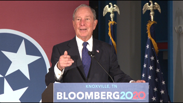 Presidential candidate Bloomberg to visit Chattanooga Wednesday