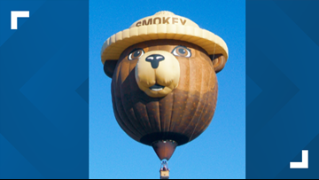 'It's a message that needs to be heard' | Smokey Bear to soar above East Tennessee