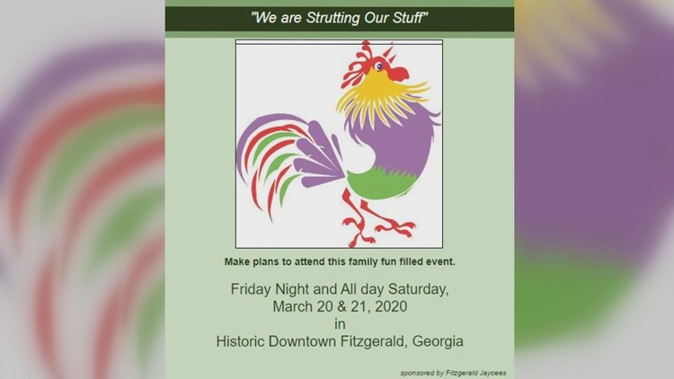 The Fitzgerald Chicken Festival is this March