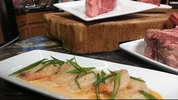 Ruth's Barbequed Shrimp