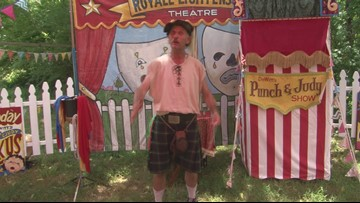 Tennessee Medieval Faire magic trick