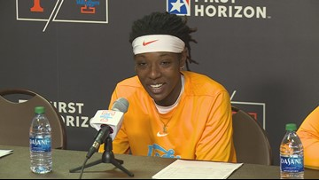 Lady Vols see different side of Harper after loss