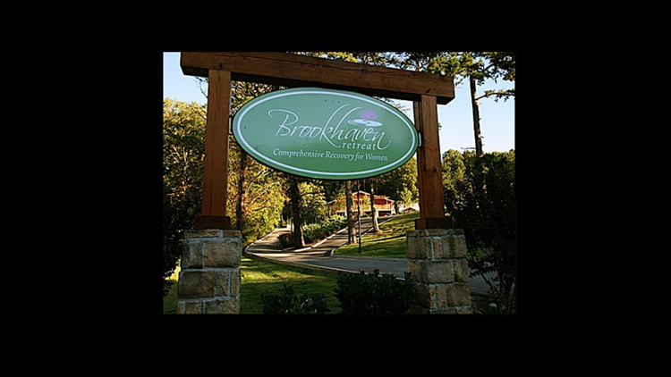 Sign outside Brookhaven Retreat