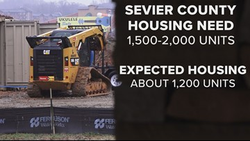 Sevier County makes progress in housing dilemma