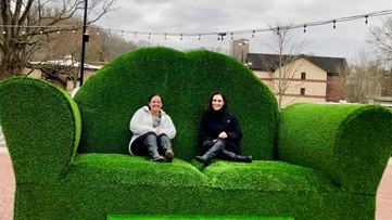 Beach in the mountains? Anakeesta bringing truckloads of sand, 'supersize' topiary couch