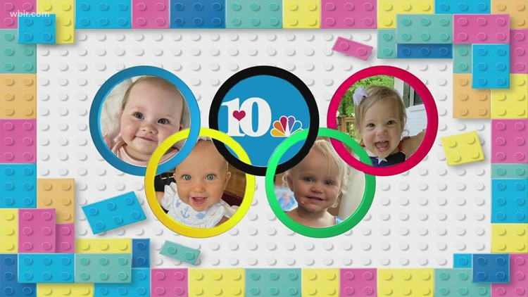 The Baby Olympics!   The relay