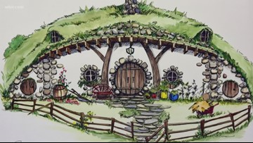 With zoning still in question, fantasy resort Ancient Lore Village breaks ground on prototype homes