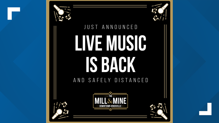 Live music to return to The Mill and Mine after around 14 months
