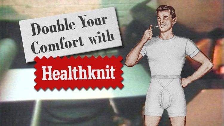 Standard Knitting Mill manufactured the popular Healthknit brand of underwear.