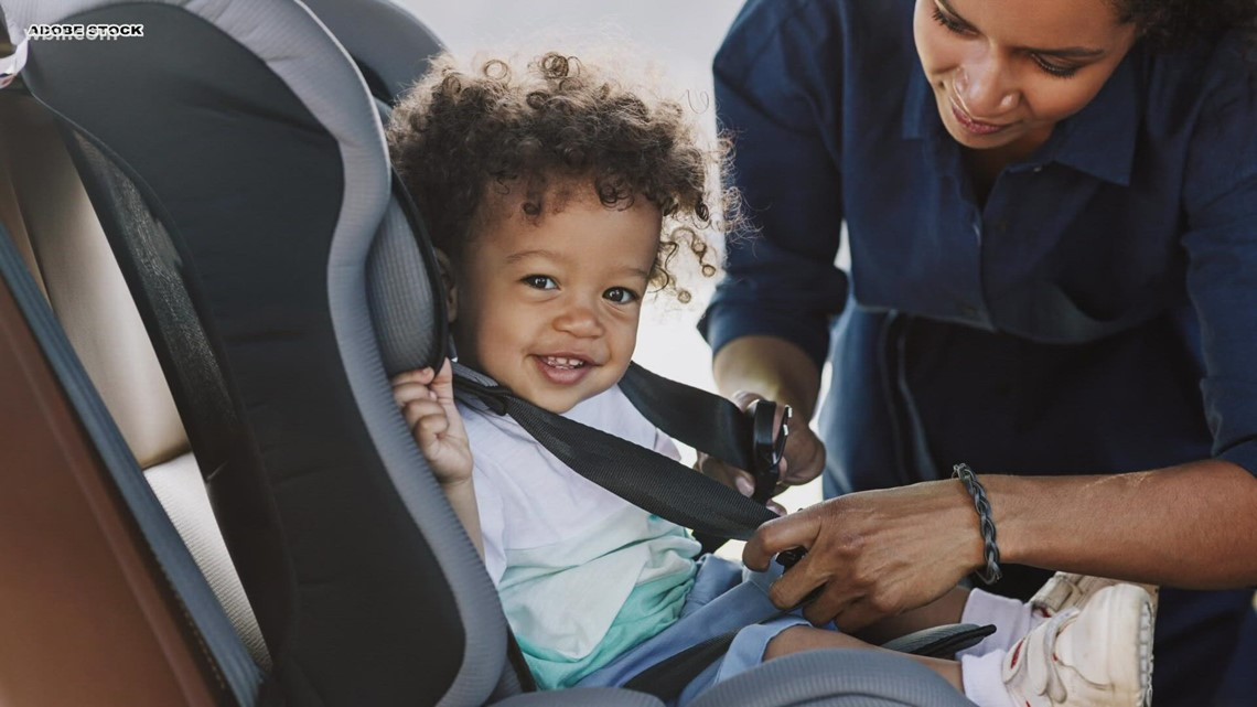 It's time to check your child's car seat!