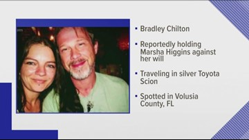 Florida deputies searching for Knoxville man, believe he is holding a woman against her will