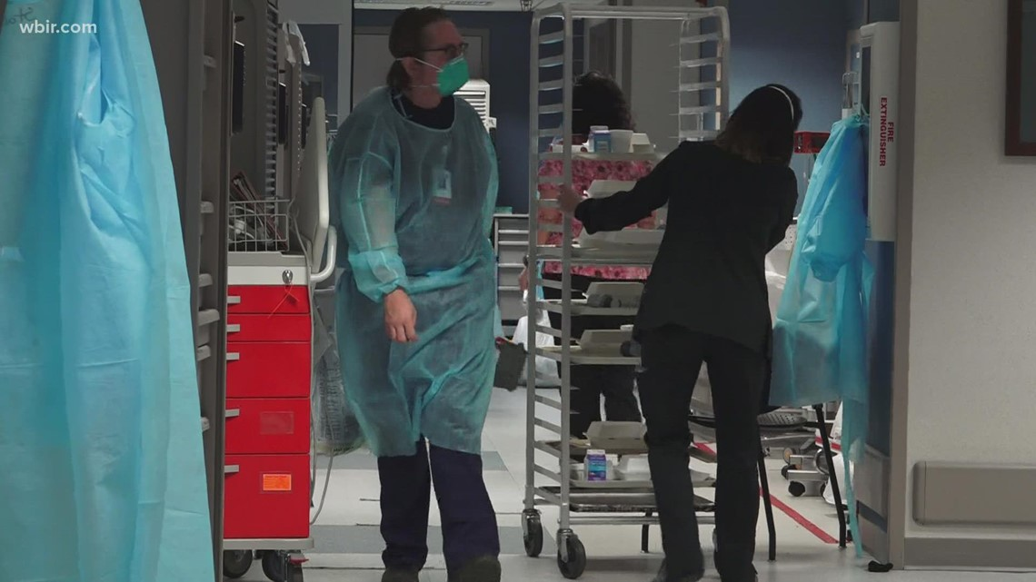 Inside East TN hospital overwhelmed with COVID