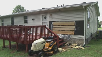 East Knox County neighborhood helps man out who lost his home to a fire