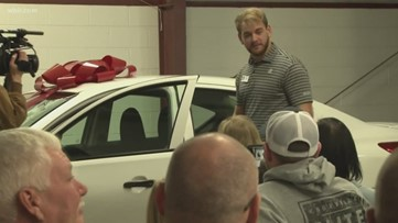 Driving it Forward: Local nonprofit surprises man with new car