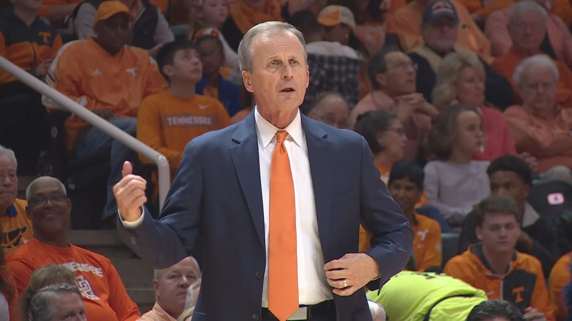 Rick Barnes swung by all those restaurants that offered him free food, bless his heart