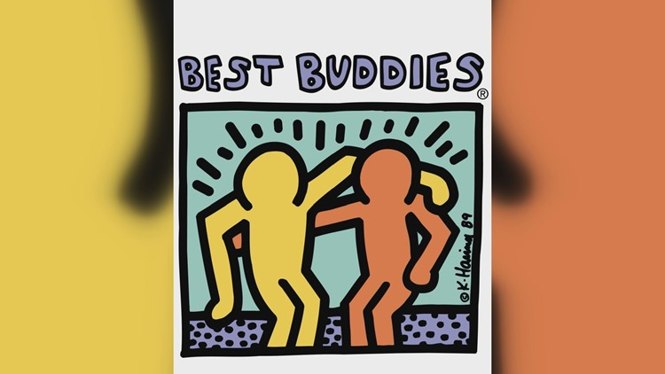 The Best Buddies program pairs typical students and those with disabilities in one-to-one friendships.