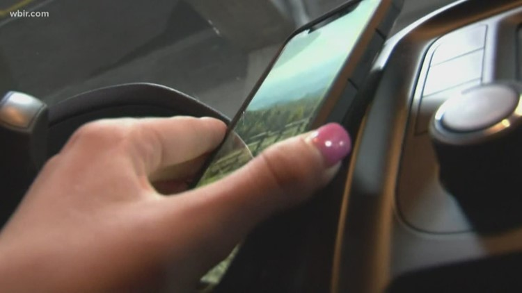 April is Distracted Driving Awareness Month, remember to follow Hands Free TN law