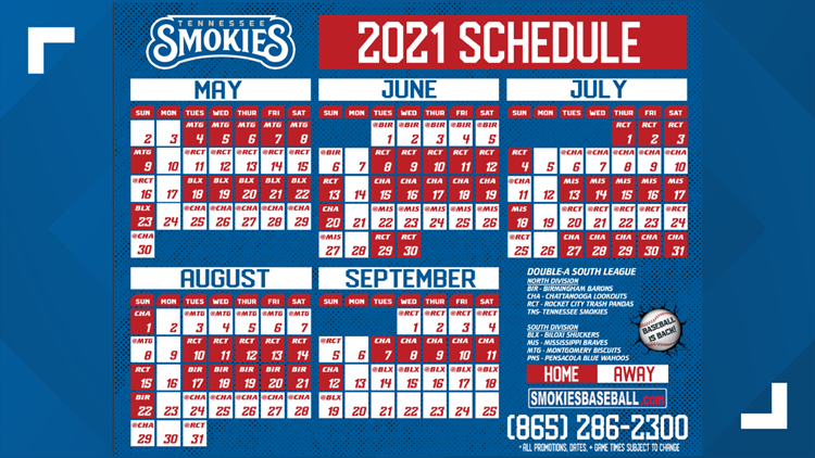 Bases loaded: Two months until Smokies open their baseball season, first pro East TN game in 22 months