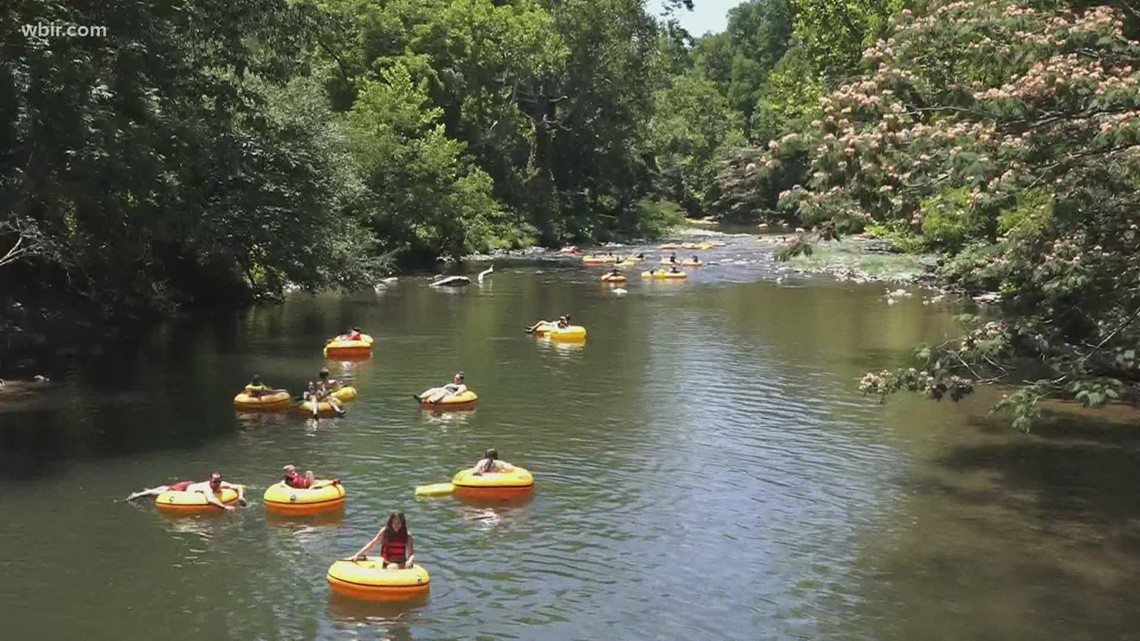 Staying safe while tubing on the river