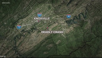 1 dead after crash on Chapman Highway in Sevier County