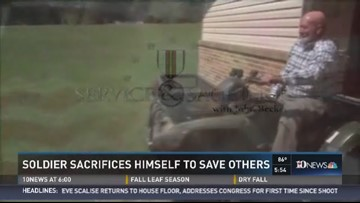 Service and Sacrifice: Soldier Sacrifices Self to Save Others