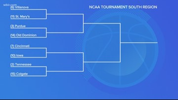Vols play Colgate Friday at 2:45 in first round