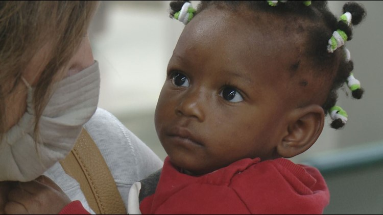 10-month-old arrived in Knoxville from Africa for free life-changing surgery, expected to make full recovery