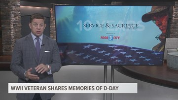 Service and Sacrifice: WWII veterans shares memories of D-Day