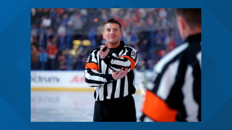 NHL referee fired after hot mic incident during Nashville Predators game