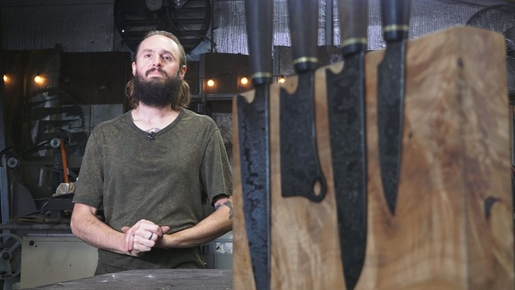 Made for Knoxville: Phillips Forged handcrafts artisan kitchen knives