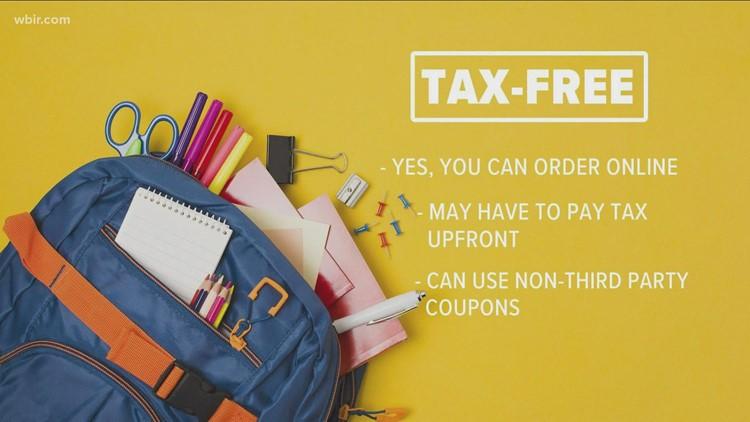 Tax-free weekend starts Friday!