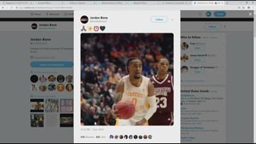 Vols point-guard Jordan Bone declares for NBA Draft