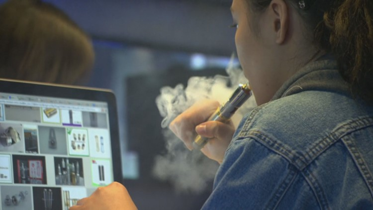 Vaping among teens