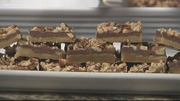 In the kitchen: Toffee bars