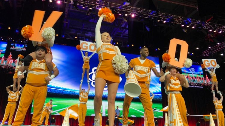 UT Cheer Team earns National Championship in Game Day finals