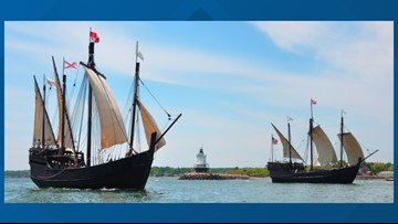 Columbus replica ships to sail up the Tennessee River