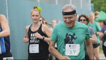 Retired doctor is running 5Ks in every state in 50 days to shed light on mental illness