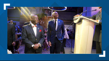 Penny Hardaway receives Spirit of the Dream award by St. Jude