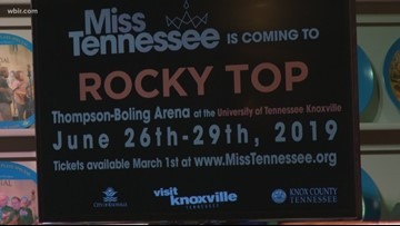 New details about the Miss Tennessee Scholarship Competition