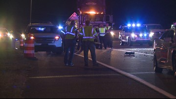 KCSO officer suffers minor injuries after pickup truck rear-ends police cruiser