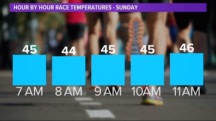Hourly Marathon Forecast